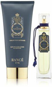 RANCE 1795 Coffret Parfum Homme Le Vainqueur, Eau de Parfum et Bain Douche pour Corps/Cheveux