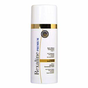Rexaline – X-treme Body Sculpt- Soin Ultime Correction 4 en 1 – Soin corps anti âge à l'Acide Hyaluronique – Crème pour le corps (lait pour le corps) – Crème anti cellulite et vergeture – 150 ml