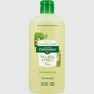 Shampoing Volume Infusion Tilleul & Prêle – Cheveux Normaux à Fins – 250 ml – Floressance par Nature