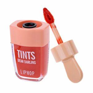 Sharplace Imperméable Vernis à Lèvres, Teinte à Lèvres Longue Durée, Brillant à Lèvres pour Soins des Lèvres – Couleur orange