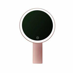 SMEJS Miroir Table de Bureau Utilisez la Base for Countertop Salle de Bains Voyage Normale LED Miroir grossissant Support avec câble USB