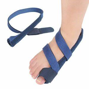 XYSQWZ Séparateur d'orteils pour Vernis à Ongles Ceinture de redresseur d'orthèses   correcteurs valgus   Attelle de Pouce de Pied de Manche protectrice réduit et Soin de l'inconfort