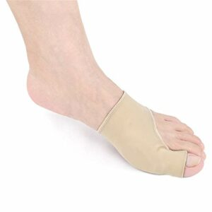 Yhjkvl Séparateur d'orteil Toe Eversion Cover Forefoot Big Toe Soin Protecteur Respirant Ultra-Mince Couverture Chevauchement et de Flexion for Les Hommes et Les Femmes Toe Lisseur