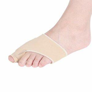 Yhjkvl Séparateur d'orteil Toe Protecteurs Pouce Toe Soins Eversion Protège Big Sweat Absorbant Toe Respirante Facile à déplacer Toe Lisseur (Color : Multi-Colored, Size : Free Size)