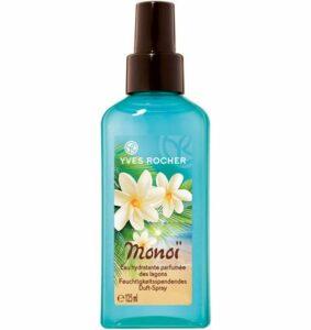 Yves Rocher MONOÏ Spray hydratant pour le corps et les cheveux à l'aloe vera bio 1 flacon pompe 125 ml