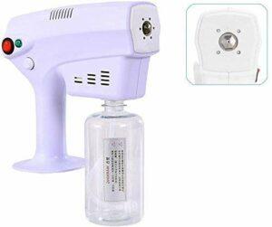 ZYLHC Pulvérisateur pulvérisateur portable désinfection pulvérisateur pulvérisateur de vaporisateur de vaporisateur bleu lumière nanos pistolets de soins de cheveux de soins de cheveux Ultra fin Aeros