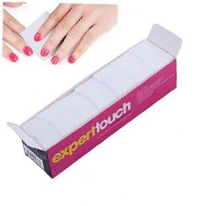 325PCS charpie ongles Wipe tampons de coton Nail Art Gel Polish Remover doux coton Absorbant Wipe pour ou bricolage Utilisez gloses à lèvres clair