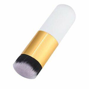 Accessoire d'outil cosmétique Pinceau à poudre de fond de teint à tête ronde portable pour usage professionnel pour utilisation en salon pour le maquillage à usage personnel