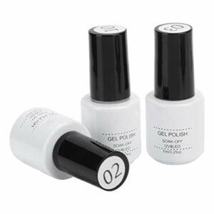 Accessoire d'outil d'art d'ongle de gel de manucure non toxique UV pour la beauté à usage professionnel pour le salon de manucure pour l'artiste d'art d'ongle