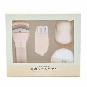 Amagogo Ensemble D'outils de Maquillage de Beauté 4in1 Kit de Bouffée de Gourde de Cils Gonflés de Coussin D'air,