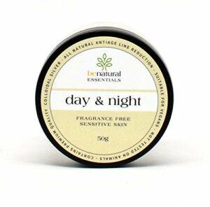 Benatural – Crème de jour/nuit anti-âge naturelle pour peaux sensibles, 50ml