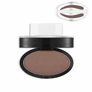 Bluelover Gris Brown Stamp Seal Eye Butrow Powder Maquillage Brow Waterproof Eye Cosmetic Tool # 01
