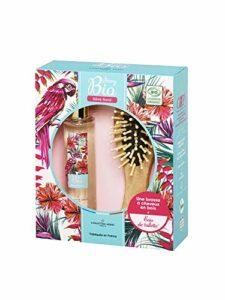 Christine Arbel Coffret Parfum Femme Story Bio Rêve Floral + 1 Brosse à Cheveux en Bois 1 Unité 0BIOFLOCOF050
