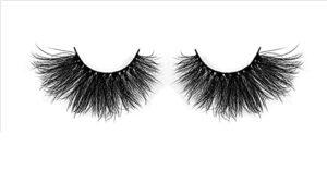 Cils Faux, Eyelash Lashes 10/30/50 Paires de 25 mm de Cils 3D en Vrac épais de Faux Cils de Faux Cils dramatiques (Color : E59, Length : 50 Pairs)
