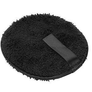 Coton Noir de Qualité Supérieure pour le Visage, Tampon de Démaquillage pour Femme, Accessoire de Beauté Doux et Doux pour la Conception des Ongles, Enlever et Soins du Visage