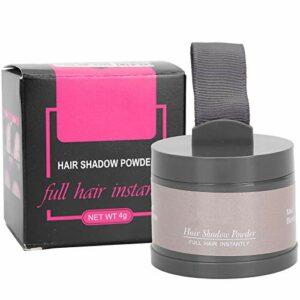 Couverture de Poudre de Ligne de Cheveux Professionnelle, Poudre de Couverture Instantanée de Ligne de Cheveux, Modifier L'outil de Maquillage de Poudre D'ombre de Cheveux de Remplissage(Doré moyen)