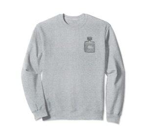 Eau de Parfum Perfume Bottle Illustration beauté flacon mode Sweatshirt