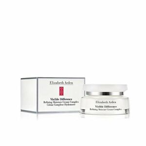 Elizabeth Arden – Visible Difference – Crème de Jour Complexe Hydratante – Peau Sèche Visage & Cou – 75ml