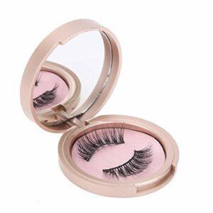 Eyeliner liquide magnétique 3D réutilisable Faux cils Maquillage pour les yeux Ensemble complet Aucune colle n'a besoin d'une trousse à outils d'aspect naturel durable(Eyeliner+Tweezers+opulence)