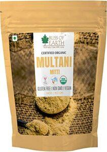 Glamorous Hub Bliss Of Earth 100% Pure Poudre Multani Mitti | Poudre de terre de Fuller | Idéal pour les cheveux, le visage et la peau (453 g)