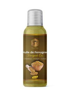 Huile de Fenugrec – 100% Pure et Naturelle – Vegan – Corps, Poitrine, Fesses, Cheveux, Ongles – soin visage et corps- tonifie et augmente la poitrine – Cruelty Free – 60 ml – huile de massage