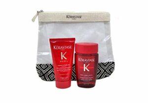 kerastase Kit de voyage soleil bain 80 ml + UV sublime crème 50 ml + pochette