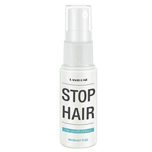 Lanthome Hair Croissance Inhibiteur Hair Arrêter Croissance Pulvérisation De Pulvérisation Pulvérisation De Cheveux Spray Pour Hommes Femmes Femmes Face Arm Jambe 20pcs