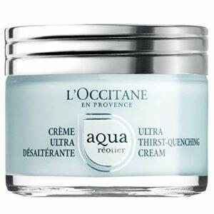 L'Occitane – Crème Minérale Ultra Hydratante et Désaltérante – Aqua Réotier – Convient à Tous types de Peau – 50 ML