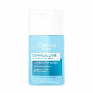 L'Oréal Paris – Démaquillant Doux Yeux – Allantoïne Apaisante – 125 mL – Lot de 2