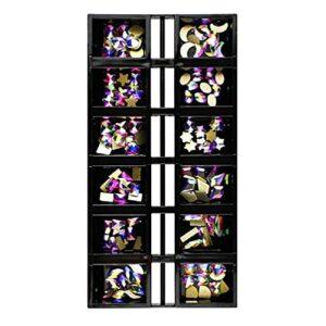 Lot de 120 strass 3D pour nail art en verre brillant à dos plat pour ongles, visage, maquillage, bijoux, décorations, accessoires de loisirs créatifs, kit de décoration d'ongles