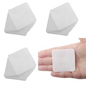 Lot de 300 tampons en coton non pelucheux pour ongles en gel, dissolvant de vernis à ongles jetables pour le visage, les cils, les ongles, les lèvres