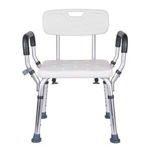 LUHUANONG Chaise de Bain de Bain Anti-Rollover Douche Chaise de Bain Tabouret de Salle de Bain Handicapée Chaise de Douche Âgée Handicapée (Color : White)