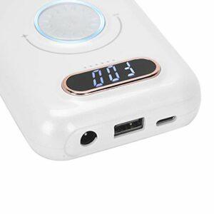 Machine électrique de pièce à main de perceuse à ongles, perceuse à ongles électrique portative rechargeable à grande vitesse 30000 tr/min pour une utilisation en salon