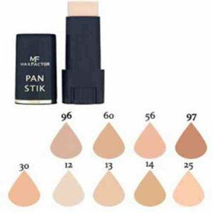 Max Factor Bâton Visage Base Maquillage, Over 10 Différent Produits de Beauté Teintes Poducts à Choisir parmi – (30 Olive, 1 Paquet)