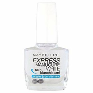 Maybelline New York – Express Manucure White – Soin Blanchissant pour Ongles Jaunes