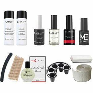 mesauda Starter Kit Gel Polish 14ml vernis vernis à ongles + Huile altéax + accessoires