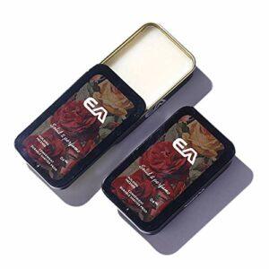 Naturel Solide Parfum Portable Soins Du Corps Parfums Parfum Doux Arôme Durable Déodorant Parfum Femmes Hommes