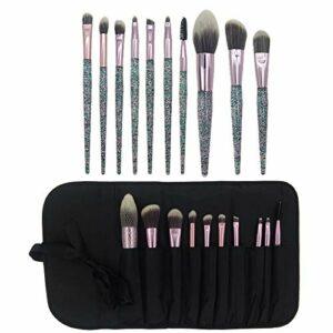 Nouveau 10 Outils de beauté de poignées en Cristal 10 Ensemble de pinceaux de Maquillage Licorne en Cristal
