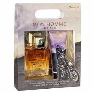 Omerta Mon Homme Coffret Eau de Toilette 100 ml/Gel Douche pour Homme
