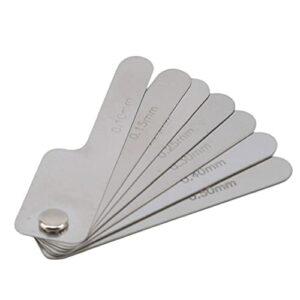 Outil de mesure de la dent d'acier inoxydable Outil de mesure de la dent orale Règle de mesure de la mesure dentaire