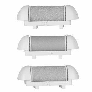 Outil de rabotage des pieds coupe-ongles Kit de pédicure pour les soins des pieds pour les callosités à utiliser par Solon pour éliminer la peau rugueuse(3 têtes de broyage d'origine)
