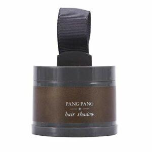 Poudre pour la réparation des cheveux, courbe pour le front, décoration pour cheveux en poudre, outil pour le maquillage de beauté en poudre (1#)