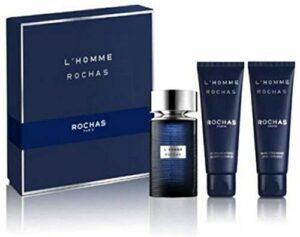 Rochas L'Homme De Rochas Eau De Toilette Vaporisateur 100ml Coffret 3 Produits 2020