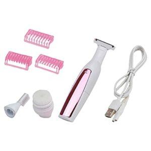 rosenice Électrique Bikini Tondeuse Sans Rechargeable Tondeuse Facial Hair Remover Corps Visage Rasoirs Pour Femmes Aisselle Jambes Bras Aisselles