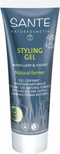 Santé – Soin et Beauté du Cheveu – Gel Coiffant Fixation Naturelle – 50 ml