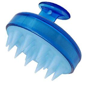 Scalp Massagerhair Massager Scalp Shampooing Pinceau silicone souple Peigne Soins du cuir chevelu cheveux Deep Cleansing pour Hommes Femmes Enfants