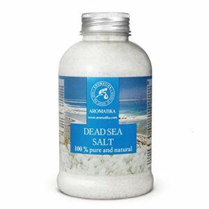Sel de Mer Morte 500g – 100% Pur et Naturel – Idéal pour Bien Dormir – Soulagement Du Stress – Bain – Beauté – Relaxant – Sels de Bain
