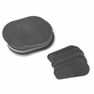 Sharplace Kit Disques d'Epilation Tampon Exfoliant en Cristaux Superfine pour Bras Visage Jambe Peau du Corps