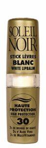 SOLEIL NOIR 26 Stick à Lèvres Blanc Ip 30 Protection Haute