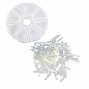 SUPVOX Lot de 120 autocollants de correction pour ongles des orteils incarnés 3 mm
